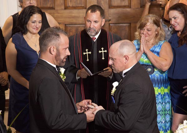 First Gay Marriage in Florida