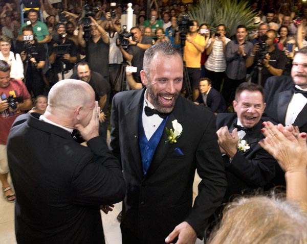 First same sex marriage in Florida