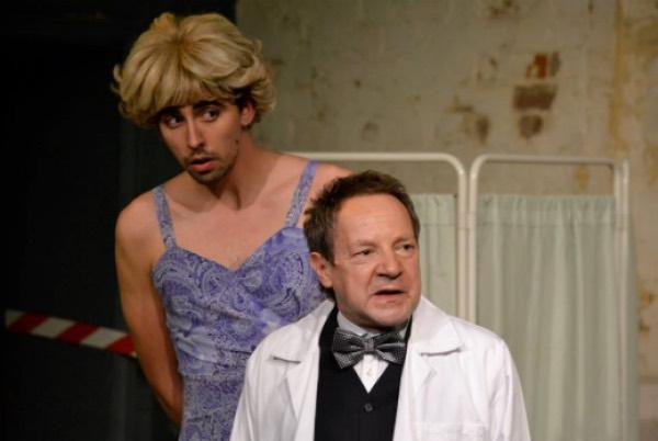 Duncan Drury as Nicholas Beckett and Michael Kirk as Dr Rance .