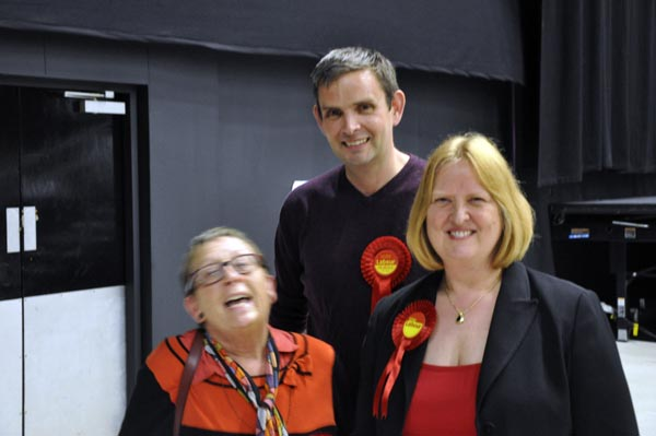Councillors Mo Marsh, Dan Yates and Anne Meadows see off UKIP challenge in Moulsecoomb and Bevendean