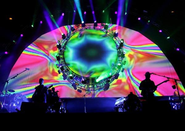 Brit Floyd Performing at Liverpool Echo Arena