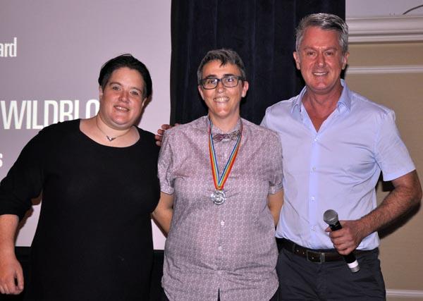 Kate Wildblood with Dulcie Weaver and Paul Kemp