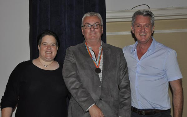 Ian Taylor with Dulcie Weaver and Paul Kemp