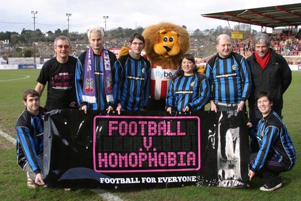 Exeter Football v Homophobia