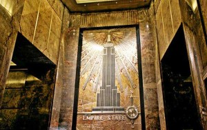 Lobby of Empire State Building