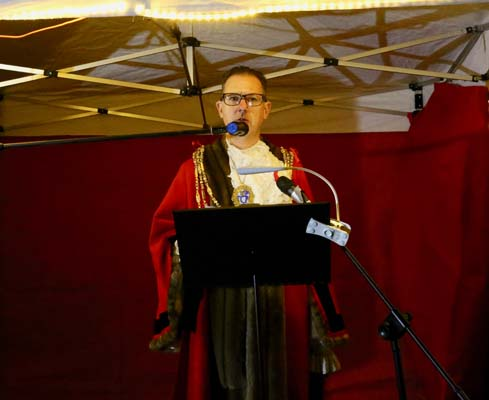 Cllr Pete West, Mayor of Brighton & Hove: Photo by Billy Short