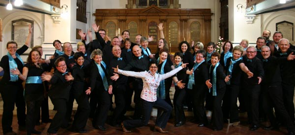 Rainbow Chorus, Brightons only LGBT choir will sing at 1.30pm