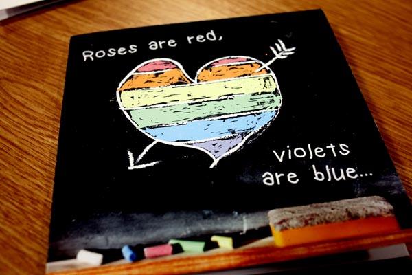 Blackboard card: Image Natasha Valentino