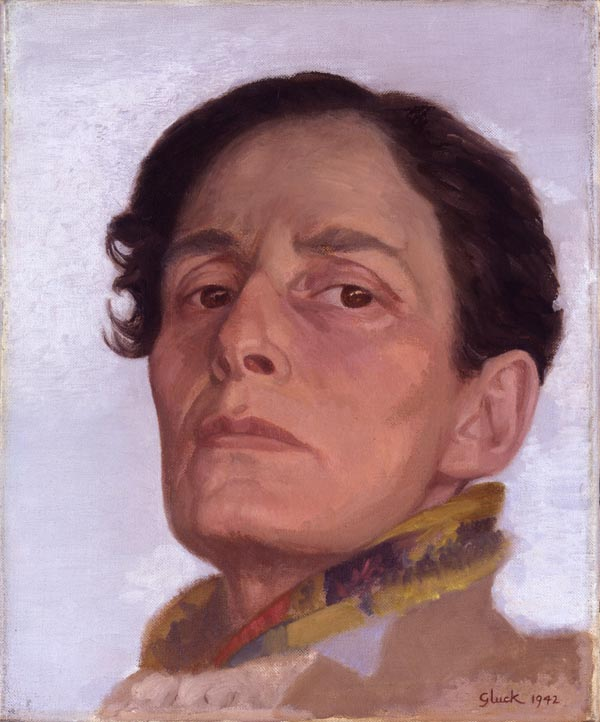 Gluck (Hannah Gluckstein) Self-Portrait 1942, NPG © National Portrait Gallery, London