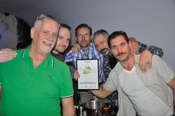 Winners of the Golden Quiz: Subline