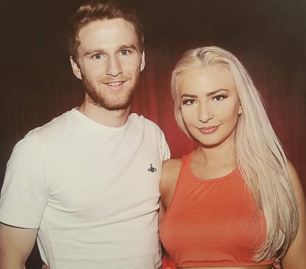 Eunan O'Kane and Laura Lacole