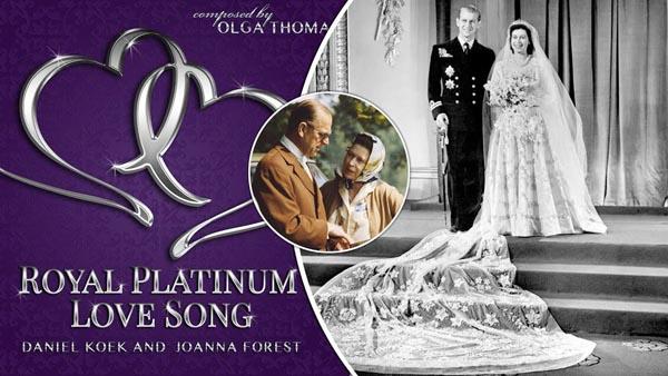 Royal platinum love song celebrates queen s
