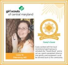 Gold Award for facebook Casey Welch