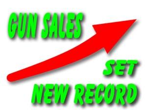 record gun sales
