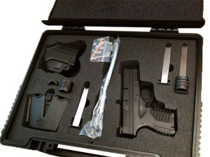 Transfers Gun In Factory Case