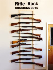 Consignment Rifle Rack