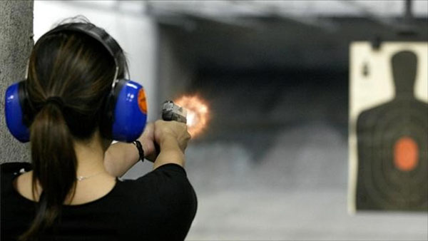 training at range