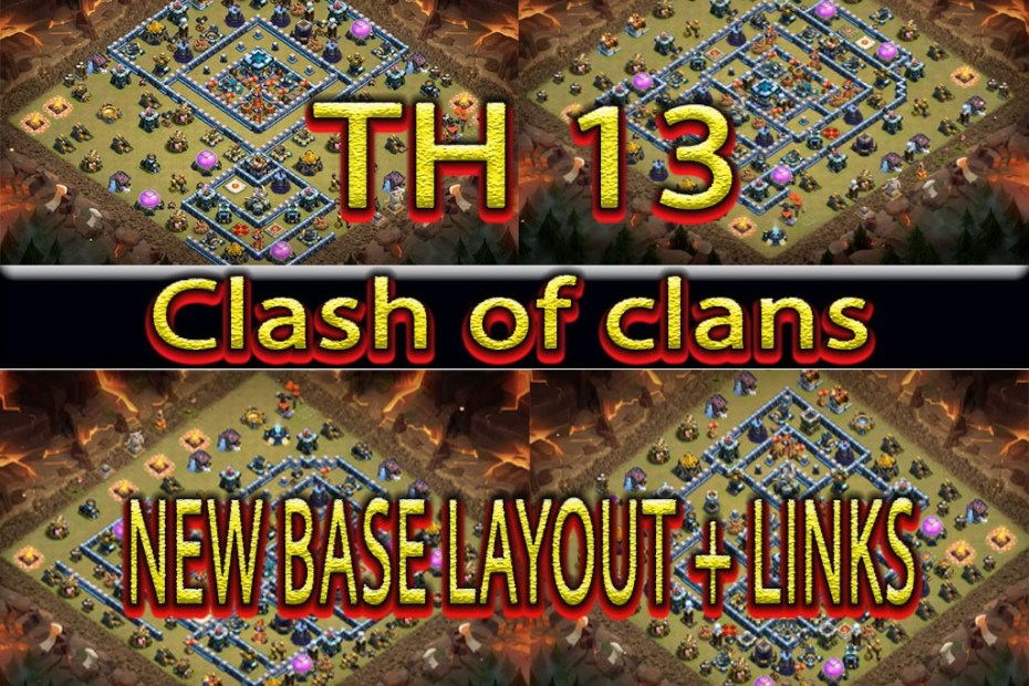 NEW BASE LAYOUT COC