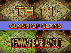 CLASH OF CLANS TH 11 NEW BASE LAYOUT and links