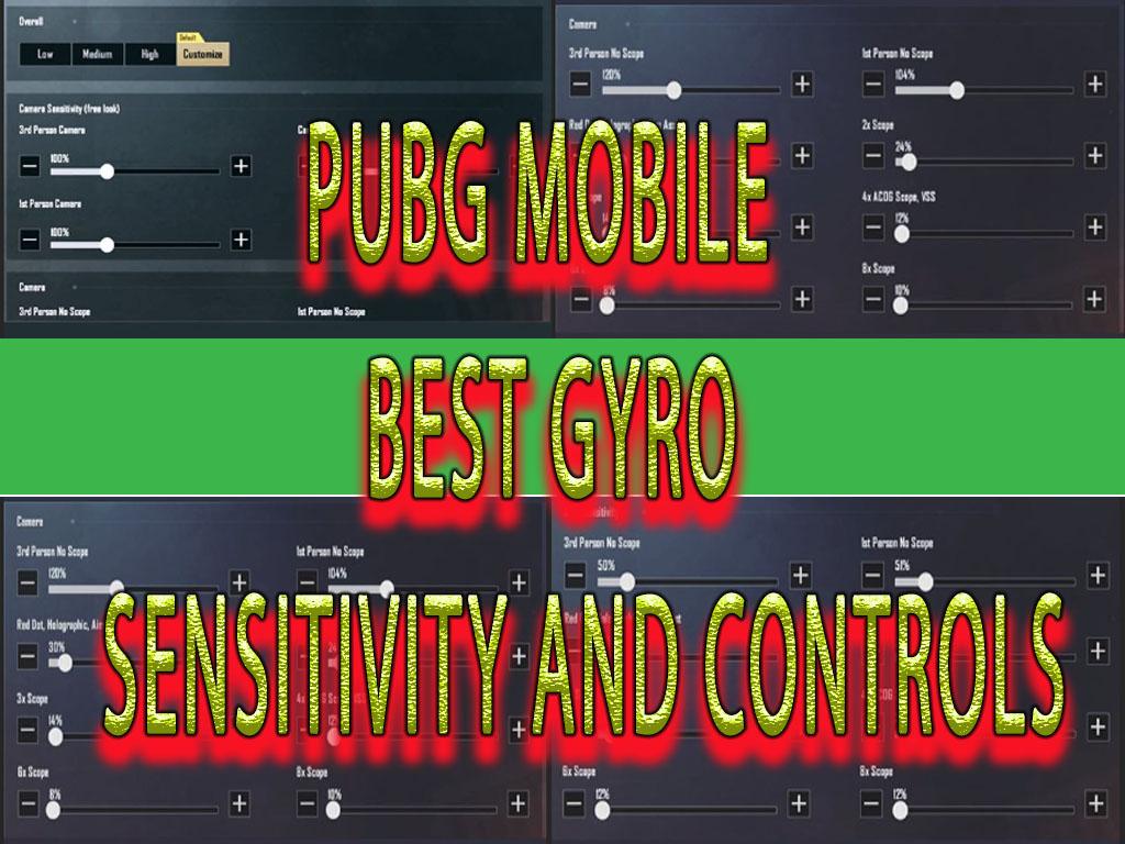 controls and sensitivity