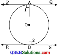 GSEB Solutions Class 10 Maths Chapter 10 Circles Ex 10.2