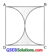 GSEB Solutions Class 10 Maths Chapter 12 Areas Related to Circles Ex 12.3