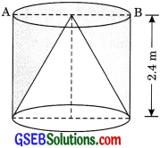 GSEB Solutions Class 10 Maths Chapter 13 Surface Areas and Volumes Ex 13.1