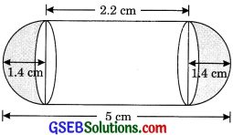 GSEB Solutions Class 10 Maths Chapter 13 Surface Areas and Volumes Ex 13.2