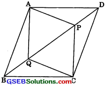 GSEB Solutions Class 9 Maths Chapter 8 Quadrilaterals Ex 8.1