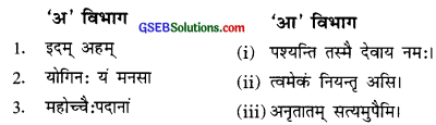 GSEB Solutions Class 9 Sanskrit Chapter 1 समर्चनम्