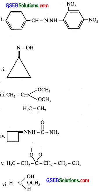 GSEB Solutions Class 12 Chemistry Chapter 12 Aldehydes, Ketones and Carboxylic Acids 13