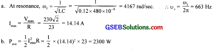 GSEB Solutions Class 12 Physics Chapter 7 Alternating Current 11