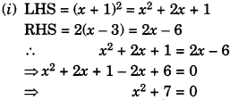 GSEB Solutions Class 10 Maths Chapter 4 Quadratic Equations Ex 4.1 img-2