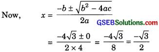 GSEB Solutions Class 10 Maths Chapter 4 Quadratic Equations Ex 4.3 img-9