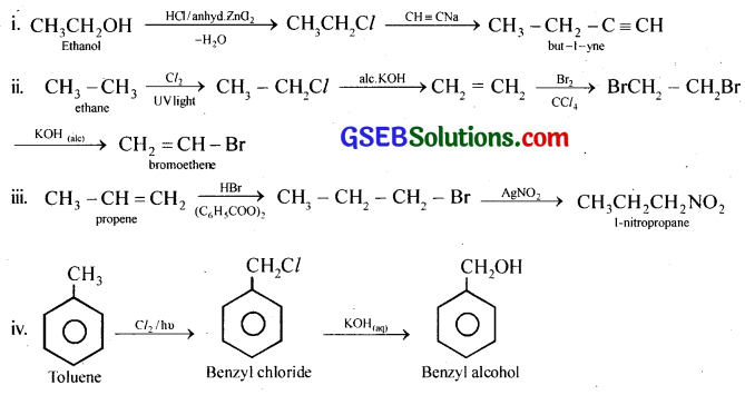 GSEB Solutions Class 12 Chemistry Chapter 10 Haloalkanes and Haloarenes 22
