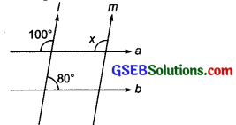 GSEB Solutions Class 7 Maths Chapter 5 Lines and Angles Ex 5.2 6