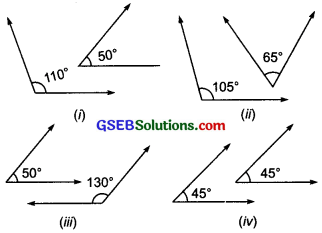 GSEB Solutions Class 7 Maths Chapter 5 Lines and Angles InText Questions 2