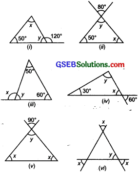 GSEB Solutions Class 7 Maths Chapter 6 The Triangles and Its Properties Ex 6.3 2