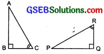 GSEB Solutions Class 7 Maths Chapter 7 Congruence of Triangles Ex 7.2 14