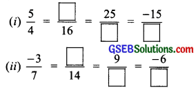 GSEB Solutions Class 7 Maths Chapter 9 Rational Numbers InText Questions 1