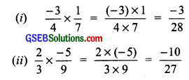GSEB Solutions Class 7 Maths Chapter 9 Rational Numbers InText Questions 9