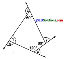 GSEB Solutions Class 8 Maths Chapter 3 Understanding Quadrilaterals Ex 3.1