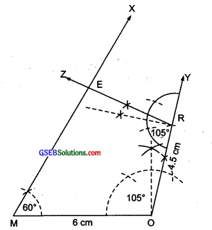 GSEB Solutions Class 8 Maths Chapter 4 Practical Geometry Ex 4.3 ima-1