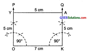 GSEB Solutions Class 8 Maths Chapter 4 Practical Geometry Ex 4.3 ima-4