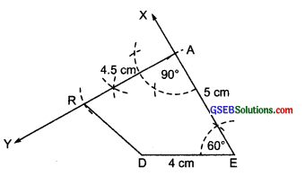 GSEB Solutions Class 8 Maths Chapter 4 Practical Geometry Ex 4.4 ima-1