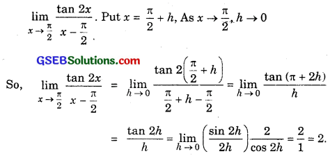 GSEB Solutions Class 11 Maths Chapter 13 Limits and Derivatives Ex 13.1 img 14
