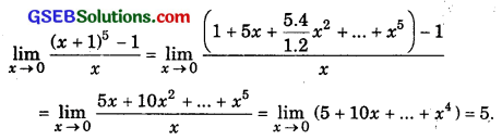 GSEB Solutions Class 11 Maths Chapter 13 Limits and Derivatives Ex 13.1 img 2