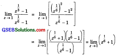 GSEB Solutions Class 11 Maths Chapter 13 Limits and Derivatives Ex 13.1 img 5