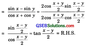 GSEB Solutions Class 11 Maths Chapter 3 Trigonometric Functions Ex 3.3 img 9