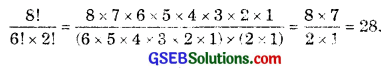 GSEB Solutions Class 11 Maths Chapter 7 Permutations and Combinations Ex 7.2 img 1